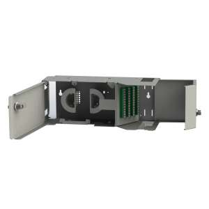 Fibre optique, Coffrets optiques, Coffrets optiques monomodes, COS P/P brassage/brassage équipé raccords SC-APC