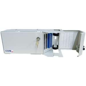 Fibre optique, Coffrets optiques, Coffrets optiques monomodes, COS S/P épissurage/brassage équipé raccords et pigtails SC-UPC