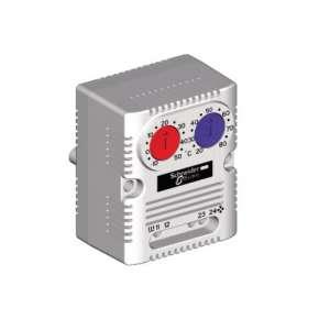Baies Coffrets, Accessoires, Unité de ventilation / refroidissement, Double thermostat 0 à +60°C