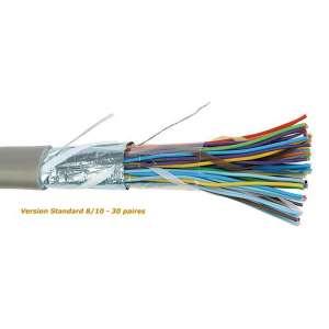 Cuivre, Câblages, Réseaux cuivre téléphonie privée intérieure, Câble SYT+ DIGITAL Standard