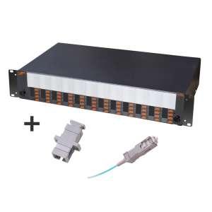Fibre optique, Tiroirs optiques mm, Connectique sc, Tom 2u 48 sc + r&p 50/125 sc