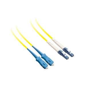 Fibre optique, Connectiques brassage, Jarretières monomodes, Jarretière 9/125 duplex-zip SC-PC/LC-PC