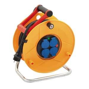 Outillage - EPI, Autres outillages, Outils de chantier, Enrouleur électrique muni de 4 prises