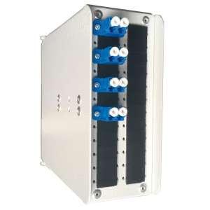 Fibre optique, Coffrets optiques, Coffret optique monomode, Cod 24 sc + r&p lc-upc