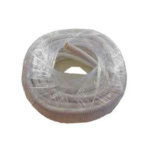 Fibre optique, Accessoires, Aiguillage, tirage et gaines, Gaine Ø18i fendue PVC annelée blanc
