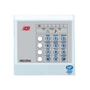 Sécurité, Détection intrustion, Intrusion filaire, Melodia - clavier pour 2605