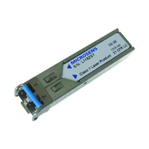 Matériels actifs, Actifs fibre optique, SFP transceivers, Interface SFP Gigabits Ethernet SM LC duplex
