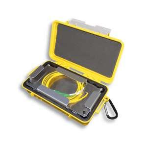 Mesures, Mesures fibre optique, Mesure de réflectométrie, Mallette OptiBox 50/125 OM2 avec casette fusion