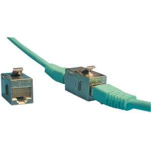 Cuivre, Solutions VDI RJ45, Connecteurs RJ45, Connecteur/adaptateur RJ45 f/RJ45 femelle blindé