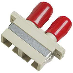 Fibre optique, Connectiques brassage, Raccords optiques hybrides, Raccord hybride SC/ST duplex multimode