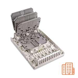 Fibre optique, Boîtiers, Boîtiers optiques intérieurs, Boîtier Branchement Immeuble 48FO