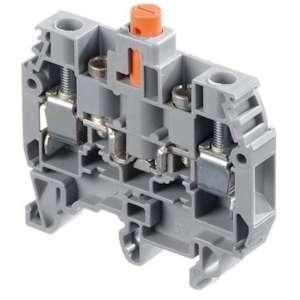 Matériels actifs, Protections équipements électriques, Autres produits électriques, Bornier coupure Entrelec Rail DIN