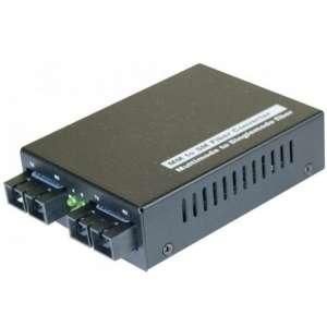 Matériels actifs, Actifs fibre optique, Solutions entreprise access, Convertisseur fibre optique Gigabit multimode vers monomode
