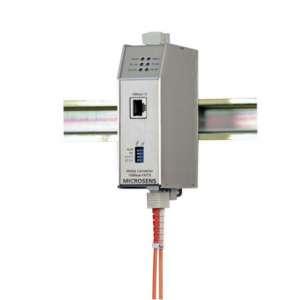 Matériels actifs, Actif fibre optique, Solution industrielle, Conv. indus fast eth.sm 100fx/100tx