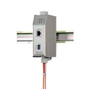 Matériels actifs, Actif fibre optique, Solution industrielle, Conv. indus 10 base fl/t mm st