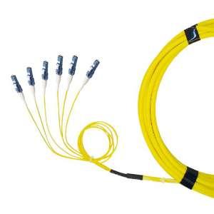 Fibre optique, Connectique brassage, Câbles préco. monomodes, Câble break-out 9/125 - LC-PC