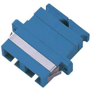 Fibre optique, Connectique brassage, Raccords optiques monomodes, Raccord sc-apc/sc-apc dx sm