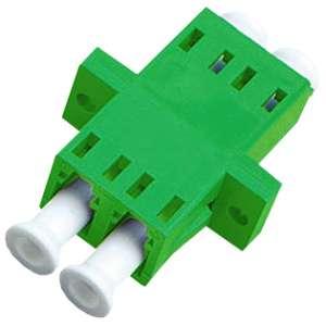 Fibre optique, Connectiques brassage, Raccords optiques monomodes, Raccord monomode duplex LC-APC/LC-APC