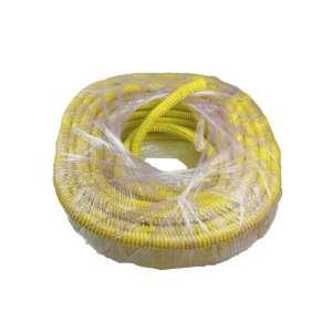 Fibre optique, Accessoires, Aiguillage, tirage et gaines, Gaine Ø18i fendue PVC annelée jaune