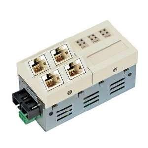 Matériels actifs, Actifs fibre optique, Solutions entreprise network FTTO, Micro-Switch Gigabit Ethernet 5 ports