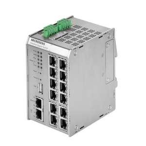 Matériels actifs, Actifs fibre optique, Solutions industrielles, Base Gigabit Ethernet 13 ports Profi Line Modulaire