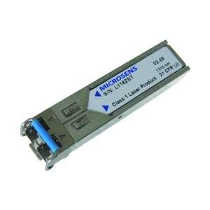 Matériels actifs, Actifs fibre optique, SFP transceivers, Interface SFP 1,25 Gbps monomode 1310 nm LC Dx 10 Km