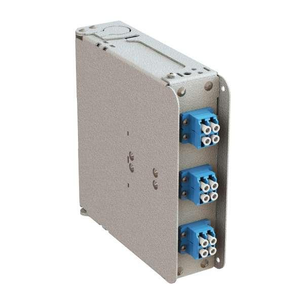 Fibre optique, Coffrets optiques, Coffrets optiques monomodes, COD-XS 6 SC équipé raccords et pigtails