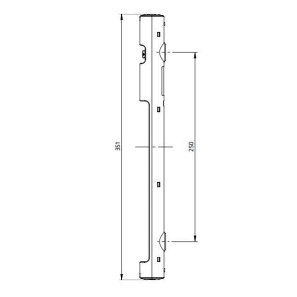 Baies Coffrets, Accessoires, Accessoires baie intérieure 19'', Eclairage compact à LED 120°