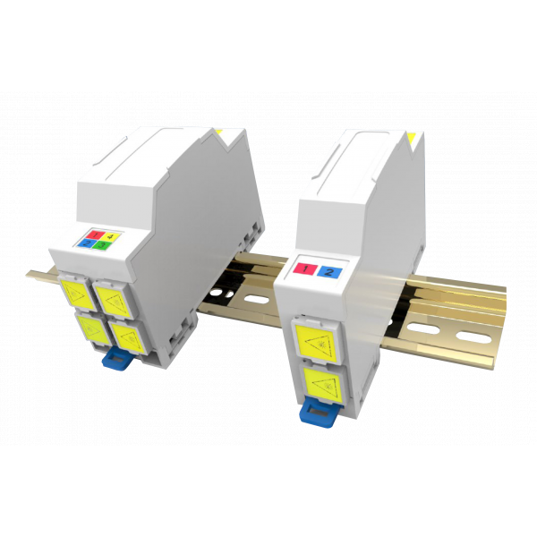 Fibre optique, Boîtiers, PTO/DTIO, Kit DTIO THD Factory 4FO SC-APC