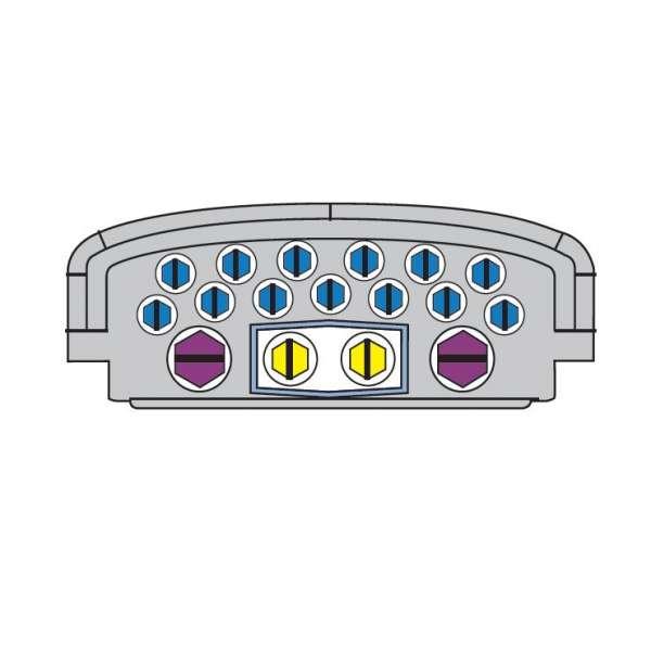 Fibre optique, BPE CORNING, BPE-O T1.5, BPE-O Taille 1.5 Branch