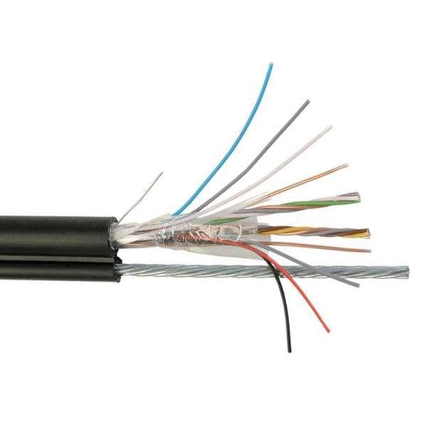 Cuivre, Câblages, Réseaux cuivre téléphonie publique extérieure, Câble auto-porté série 98