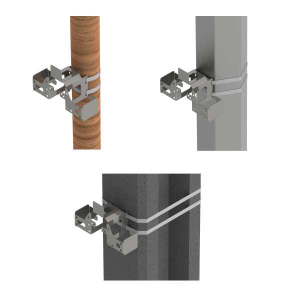 Fibre optique, Accessoires, Autres accessoires optiques, Support universel PB
