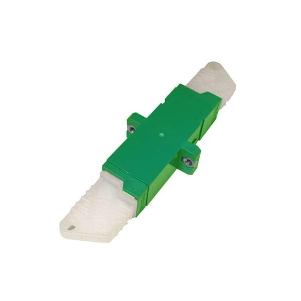 Fibre optique, Connectiques brassage, Raccords optiques monomodes, Raccord E2000-APC monomode