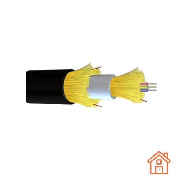 Fibre optique, Câblages, Réseaux optiques FTTH, Câble déshabillable G657A2 2FO 6/4mm
