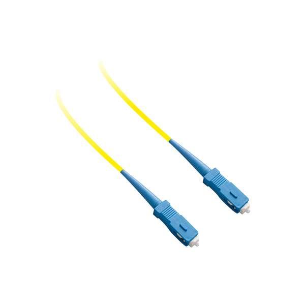 Fibre optique, Connectiques brassage, Jarretières monomodes, Jarretière 9/125 simplex SC-PC/SC-PC