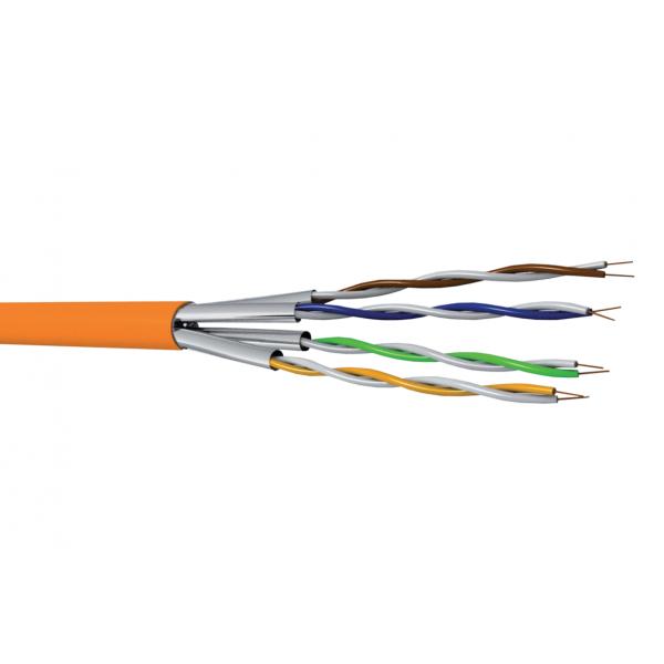 Cuivre, Câblages, Réseaux cuivre LAN, Câble F-FTP Cat 6A 500MHz