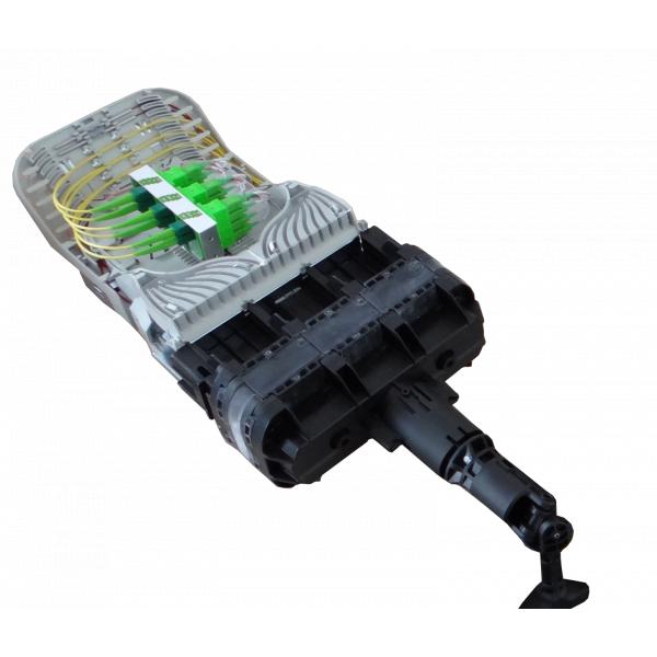 Fibre optique, BPE COMMSCOPE, TENIO, Kit TENIO T1 24FO équipé 1 à 12 raccords et pigtails SC-APC