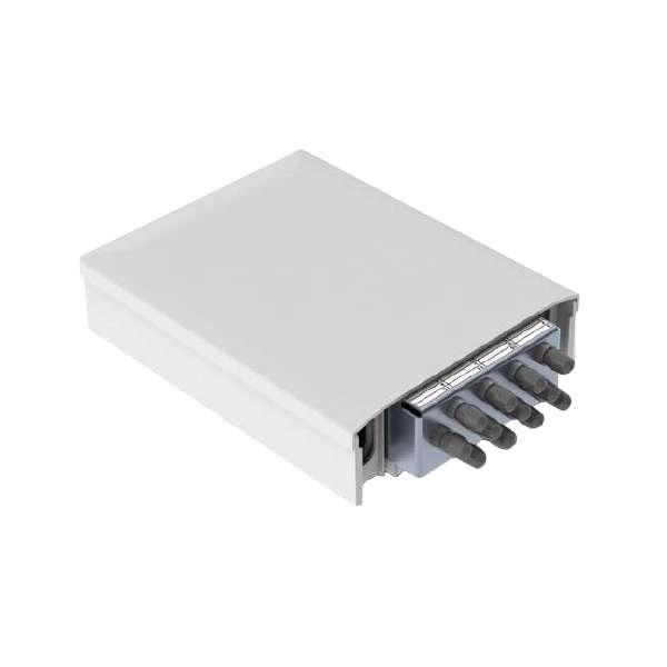 Fibre optique, Boîtiers, Boitier optique intérieur, PBPO/C 62.5/125 box equipped of 12 adapters and pigtails ST