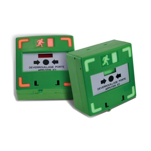 Sécurité, Détection intrusion, Détection incendie, Déclencheur manuel - 3 contacts