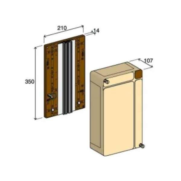 Cuivre, Boîtiers modules, Modules de raccordement, Boîte BCAB