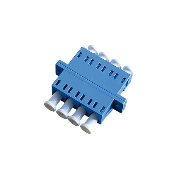 Fibre optique, Connectiques brassage, Raccords optiques monomodes, Raccord monomode quadriplex LC-PC/LC-PC