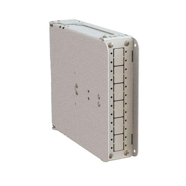 Fibre optique, Coffrets optiques, Coffrets optiques monomodes, COD-S 12 SC équipé raccords et pigtails SC-APC
