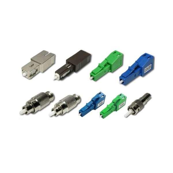 Fibre optique, Connectique brassage, Atténuateurs, Atténuateur plug-in 9/125 lc-upc