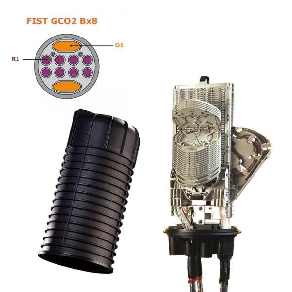 Fibre optique, BPE COMMSCOPE, FIST, Boîtier FIST GCO2 Bx8