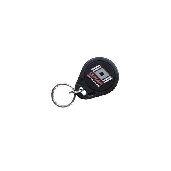 Sécurité, Détection intrusion, Alarme intrusion (sirène), Badge contrôle d'accès - format porte-clefs
