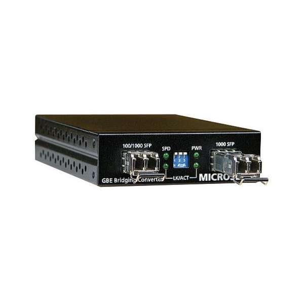 Matériels actifs, Actifs fibre optique, Solutions entreprise network BFOP, Bridge Gigabit Ethernet SFP 100/1000Base-X / SFP 1000Base-X