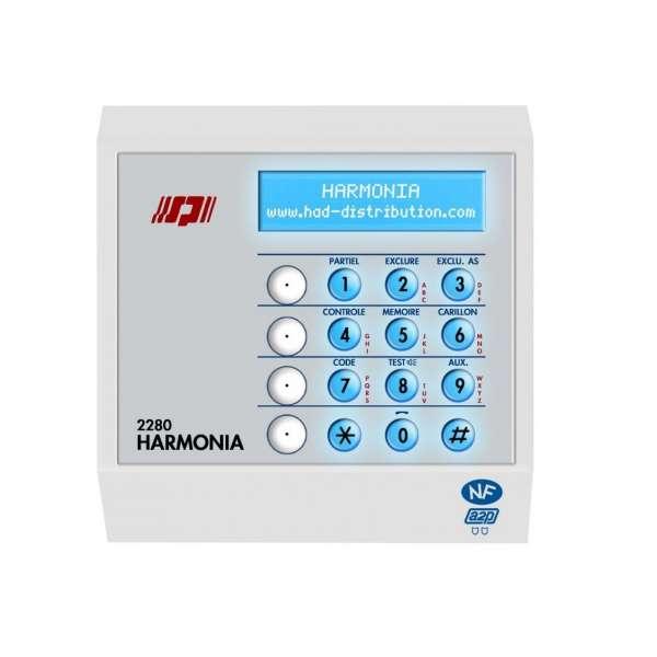 Sécurité, Détection intrusion, Intrusion filaire, Pack centrale alarme HARMONIA II