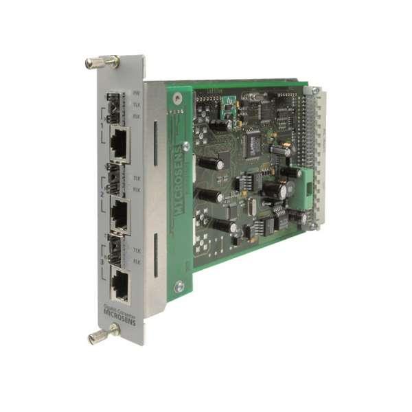 Matériels actifs, Actifs fibre optique, Solutions entreprise access, Module de Média Conversion 3 Ports
