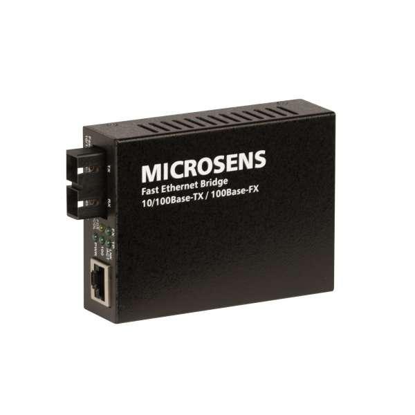 Matériels actifs, Actifs fibre optique, Solutions entreprise network BFOP, Bridge Fast Ethernet alimentation USB ou PoE