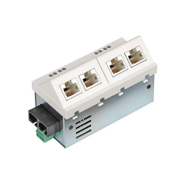 Matériels actifs, Actifs fibre optique, Solutions entreprise network FTTO, Micro-Switch Fast Ethernet 5 ports 45x90